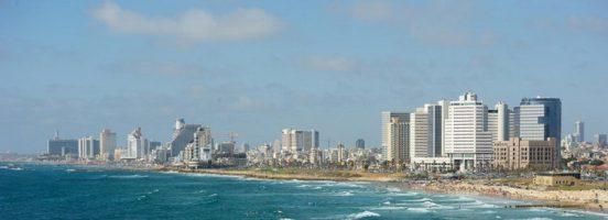 מטיילים בתל אביב